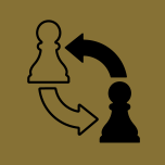 icon with chess figures