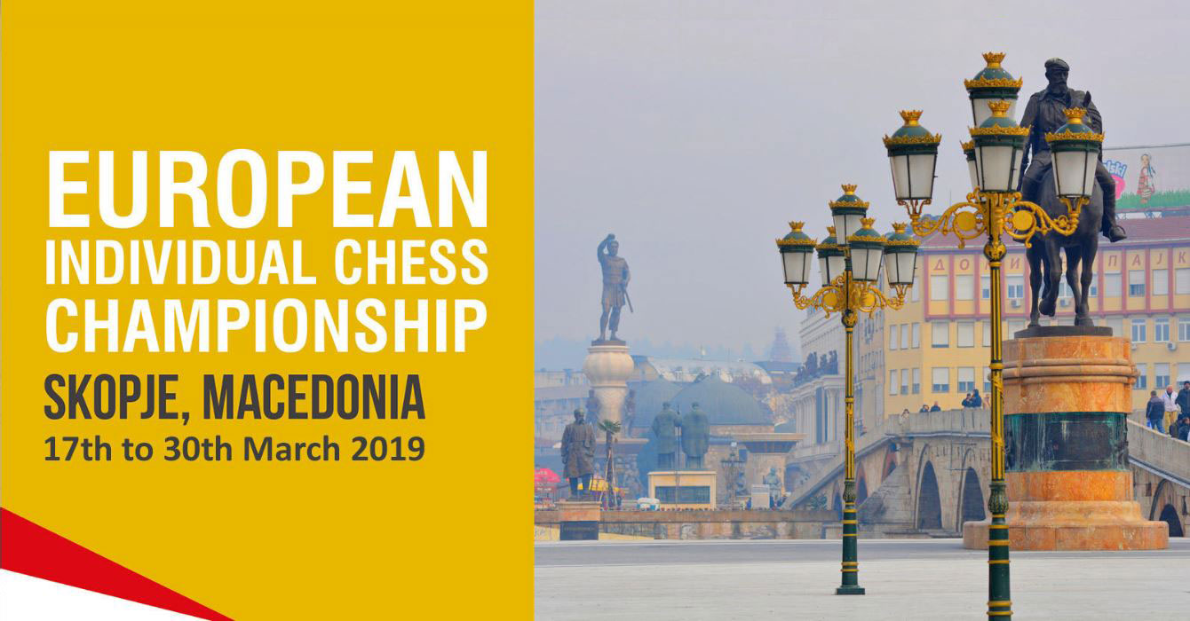 european chess championship in skopje March, 17th 2019